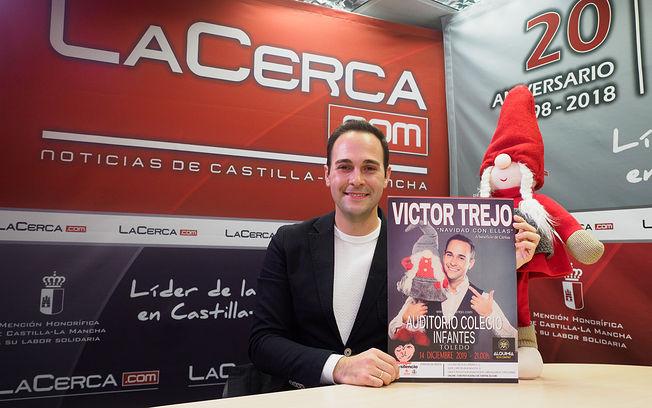 Víctor Trejo, tenor y organizador de