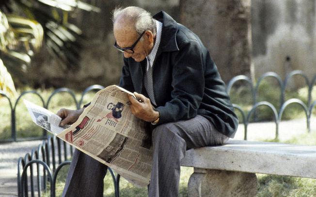 Persona mayor en La Habana (Cuba). Foto ONU/Milton Grant.