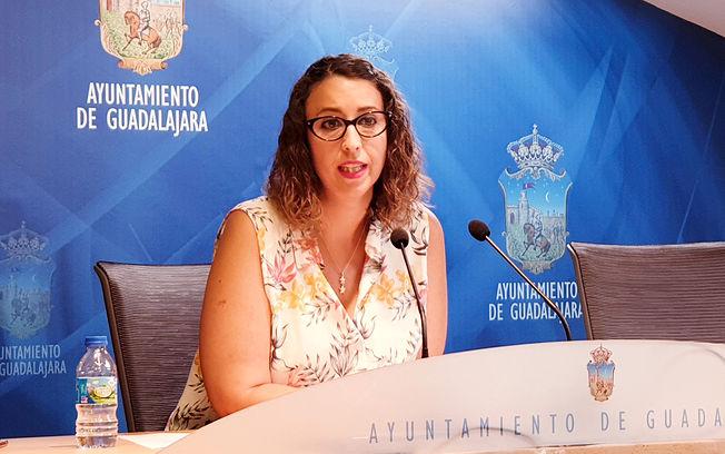 Sara Simón, concejala de Festejos.